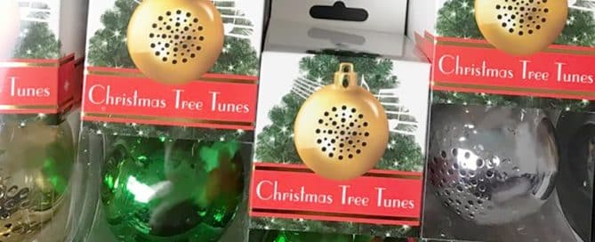 Christmas Ball Bluetooth Speaker