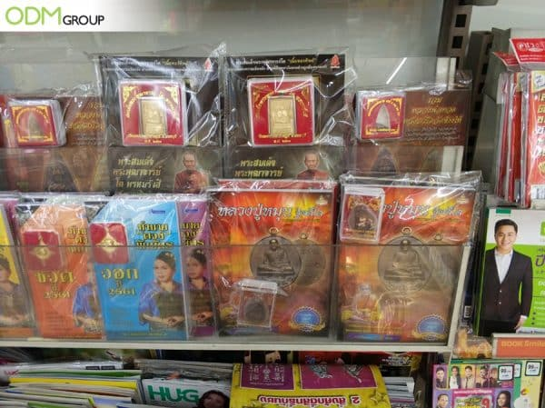 Thai Budhha Charms as Magazine Covermount Promo Gift - Secret Behind Effective Marketing