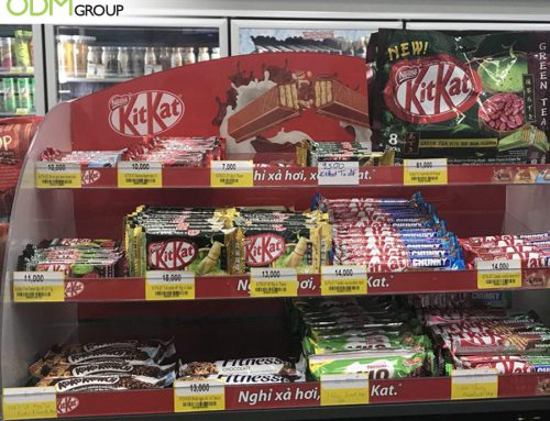 Kit Kat Wows Customers With Its Prominent Display Stand!