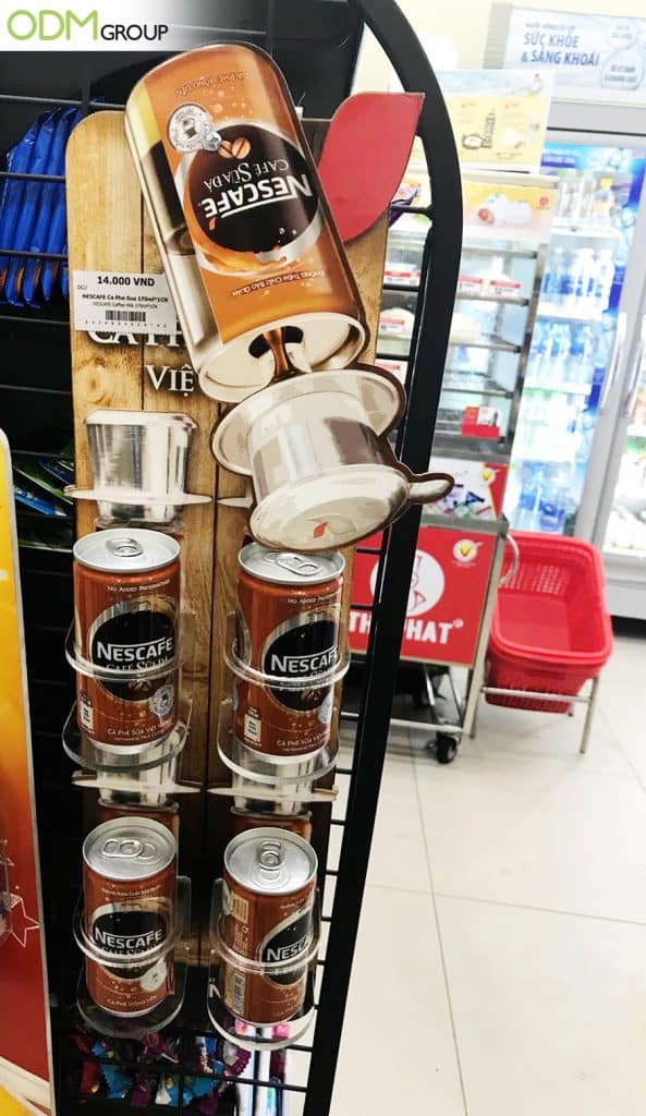 Impactful Retail Display Rack By Nescafe What Can We Learn