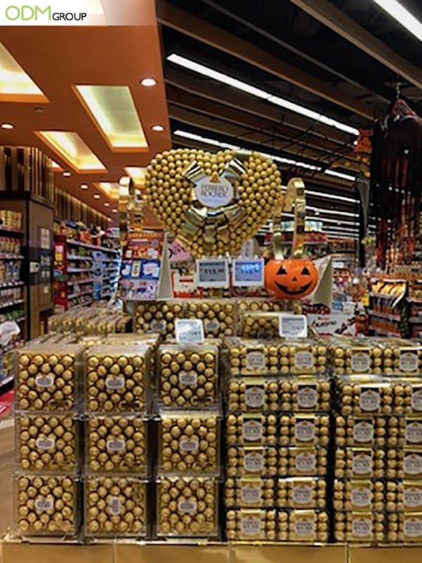 Extravagant Ferrero POS Advertising Campaign: What We Can Learn