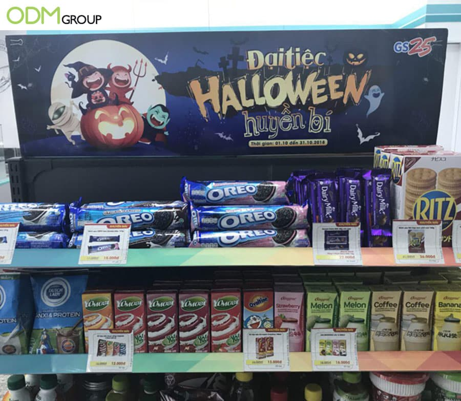 362674579 Halloween-Themed Retail Product Display To Celebrate The Occasion!