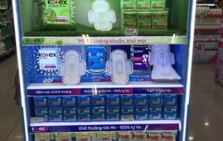 Utilizing LED Custom Display By Kotex And More To Spark Curiosity