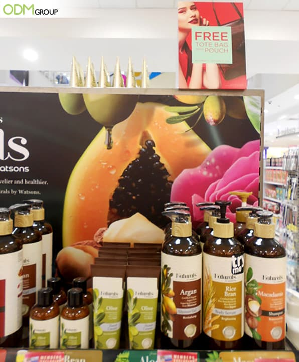 Creative POS Display Design Boosts Watsons' Brand Equity