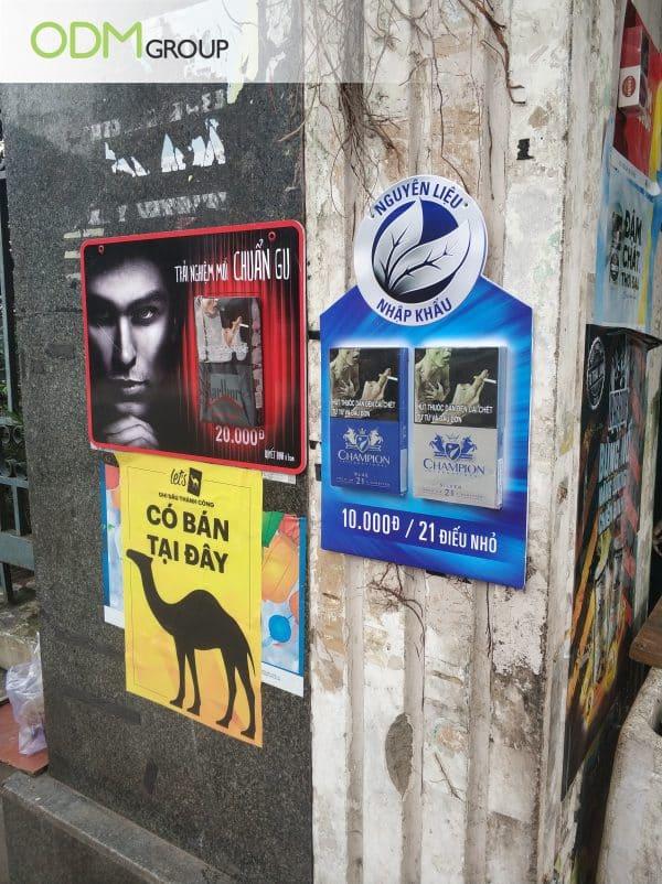 3D outdoor advertising