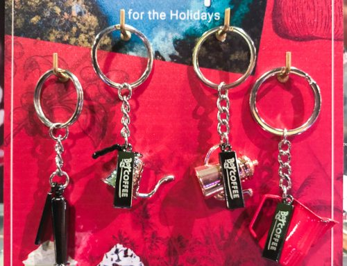 Bo's Coffee Offers Promotional Keychain As Their Holiday Gift