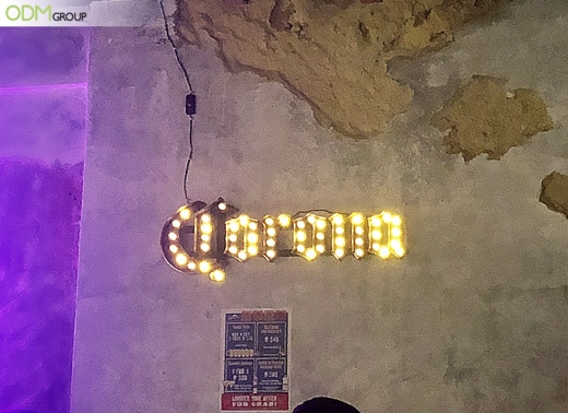 Why Corona's Bulb Signage Never Fails to Spark Interest