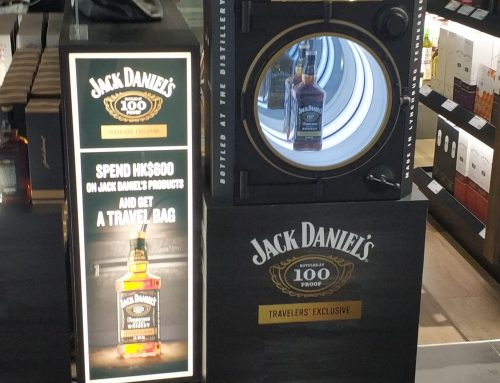 Classy Bespoke Display Stand By Jack Daniels