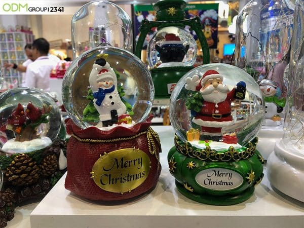 Custom Branded Snow Globes for Festive Christmas Promotions!