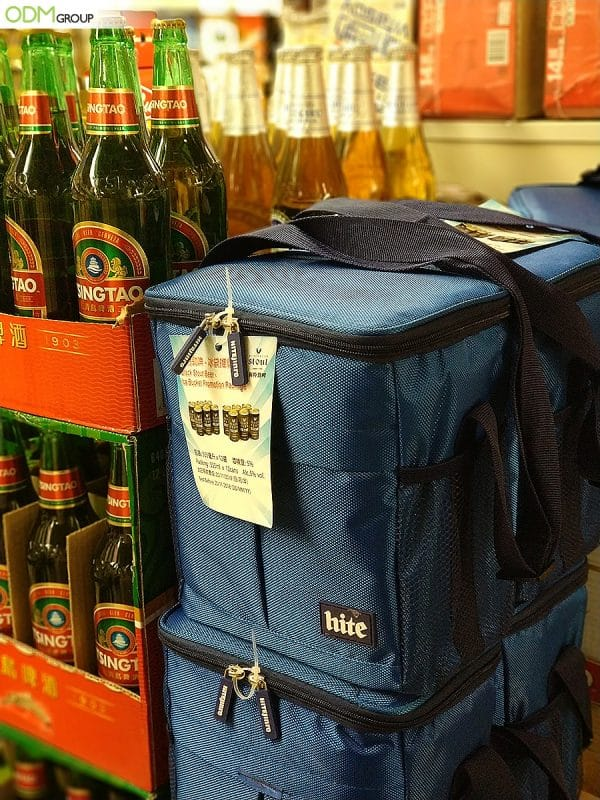 Cooler Bag Giveaway - Clever Drinks Promo in Asia by Hitejinro