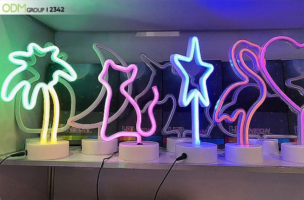 Neon Night Lamps as Corporate Souvenirs- Why Go with the Neon Trend?