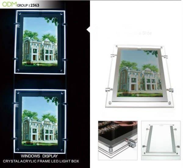 custom acrylic frame