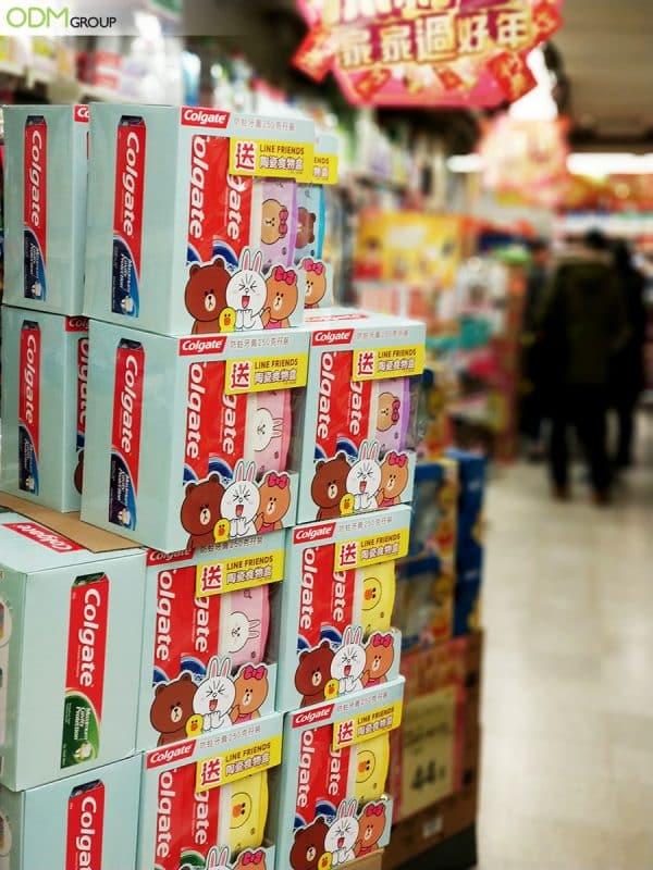 How Colgate Use On Pack Premium for Customer Retention