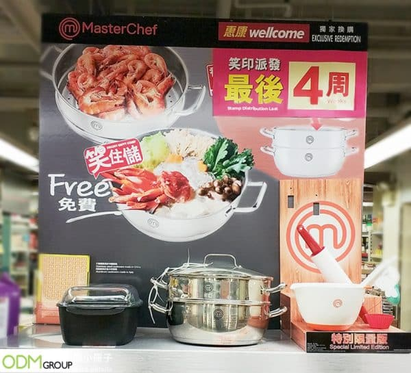 Redemption Rewards Program by MasterChef Creates In-Store Buzz