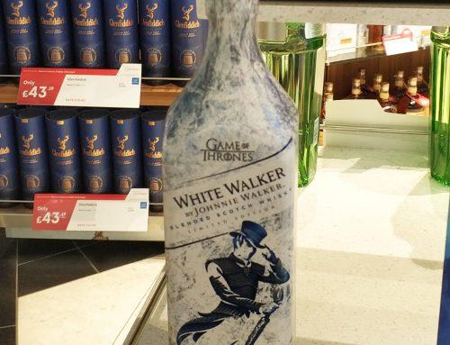 Whiskey Bottle Packaging Design by Johnnie Walker
