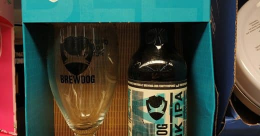 Promo Beer Glass - Marketing Giveaway From Brewdog Punk IPA