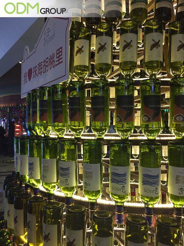 Store Drinks Display