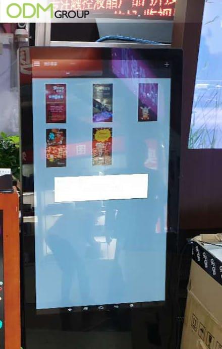 Digital advertising board