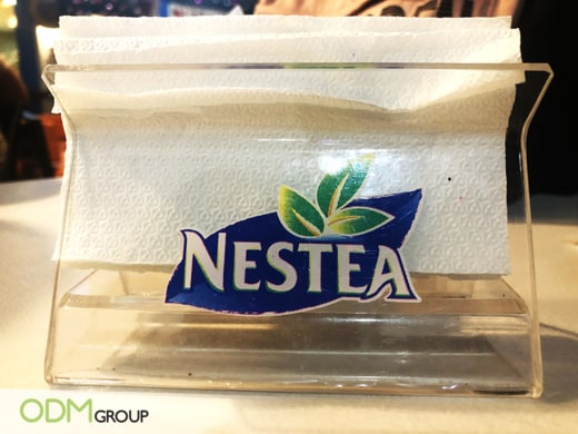 3 Reasons Why We Love Nestea's Promotional Napkin Holder
