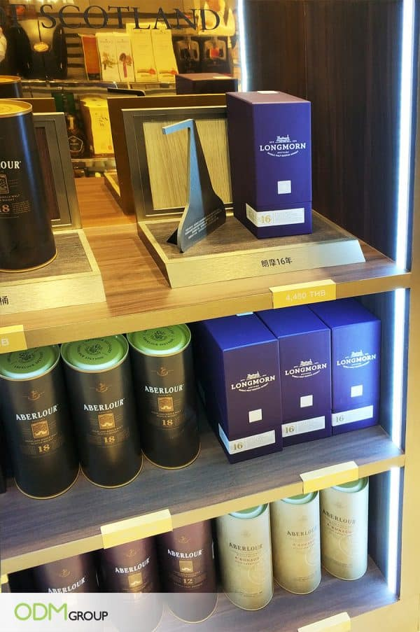 Branded Counter Display - Scotch