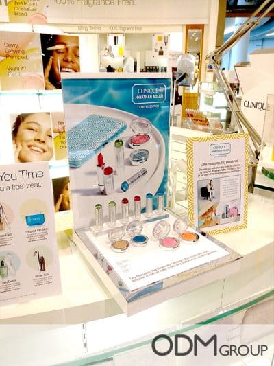 Branded Counter Display