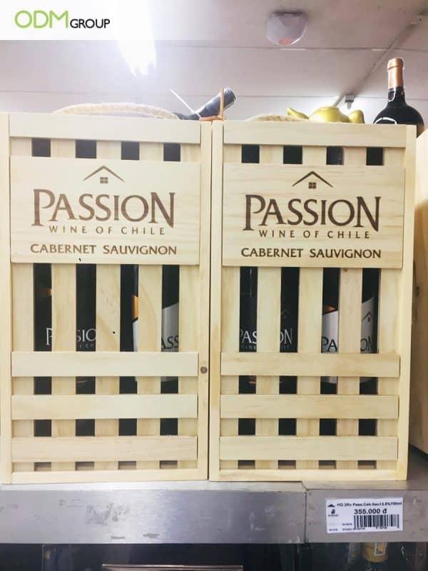 Branded Wooden Packaging