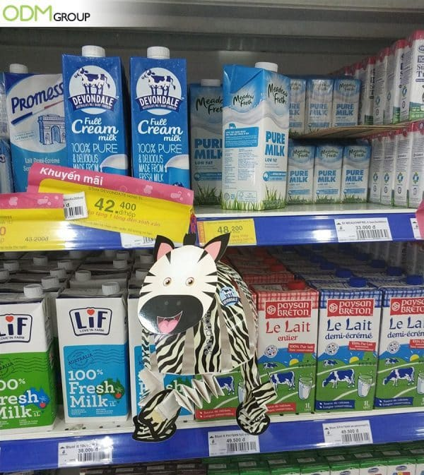 Innovative Cardboard In Store Display Wows the Market