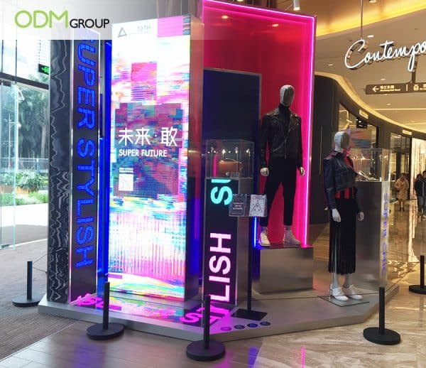 LED Retail Display