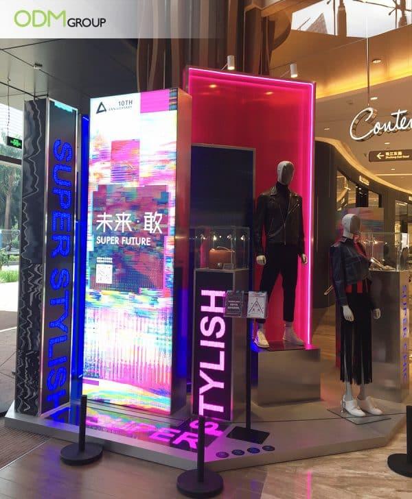 LED Retail Display