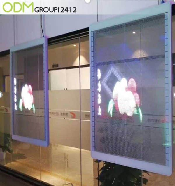Transparent LED Screen Poster