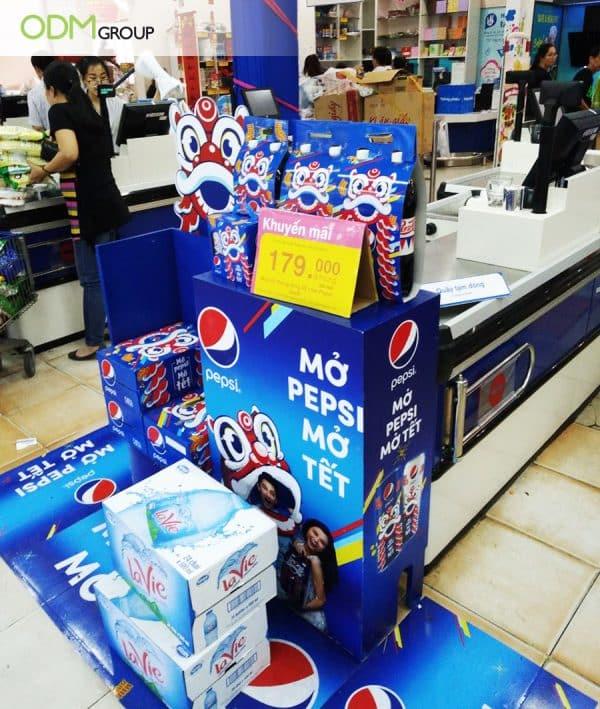 Pepsi - POS Display