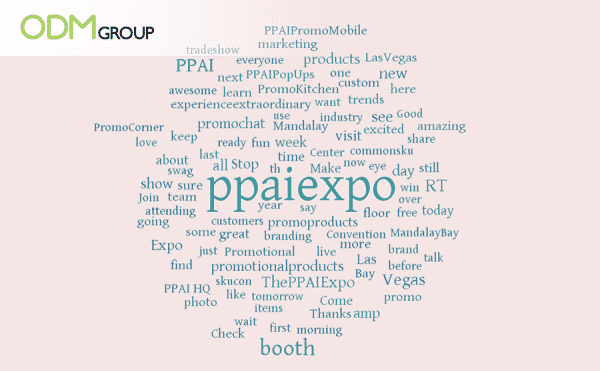 PPAI Expo Word Cloud