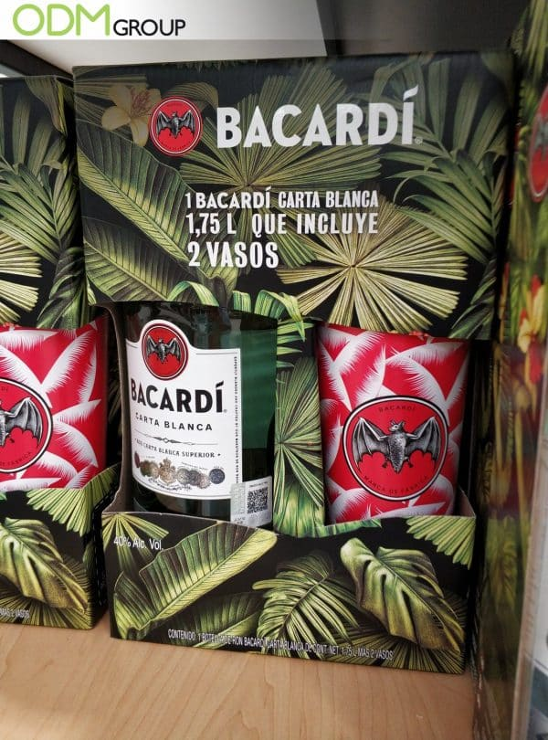 Bacardi Goes Loud with Custom Gift with Purchase