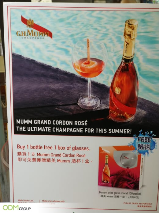 How A Branded Wine Glass Boosts GH Mumm's Global Marketing