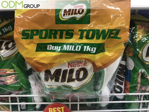 Towel Giveaway - Milo's Key Towards Successful Marketing