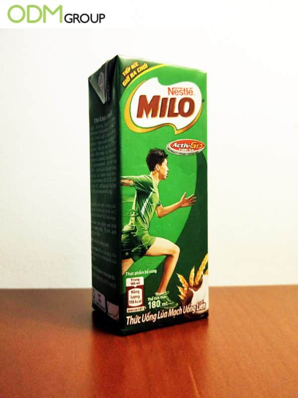 milo on-pack promotion