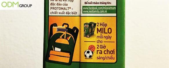 milo onpack promotions