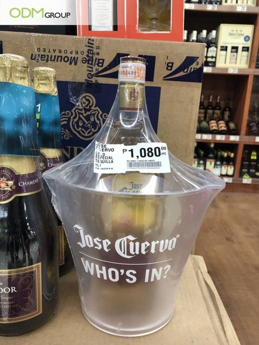 Promo Ice Bucket - Jose Cuervo's Successful Marketing Giveaway