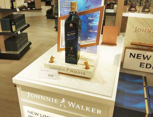 Bottle Glorifier Display: 4 Lessons We Learned from Johnnie Walker
