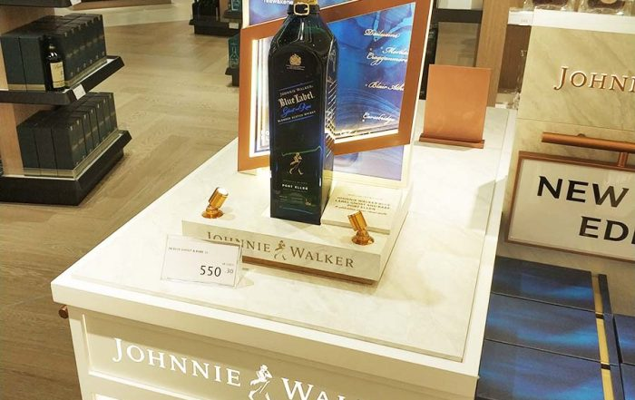 Bottle Glorifier Display
