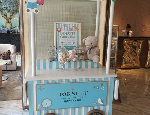 Custom Candy Cart by Dorsett Hotel Wows Customers