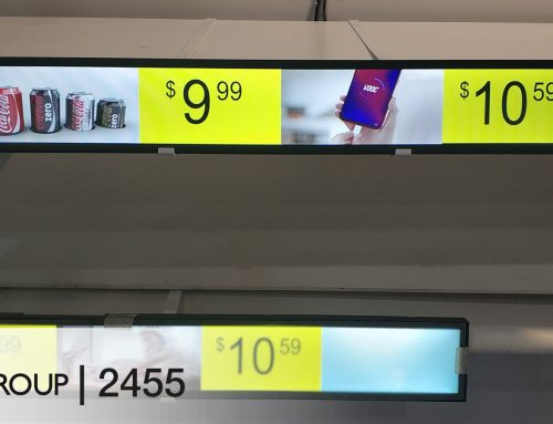 Stand Out from Dull Retail Shelves with a Custom Electronic Display