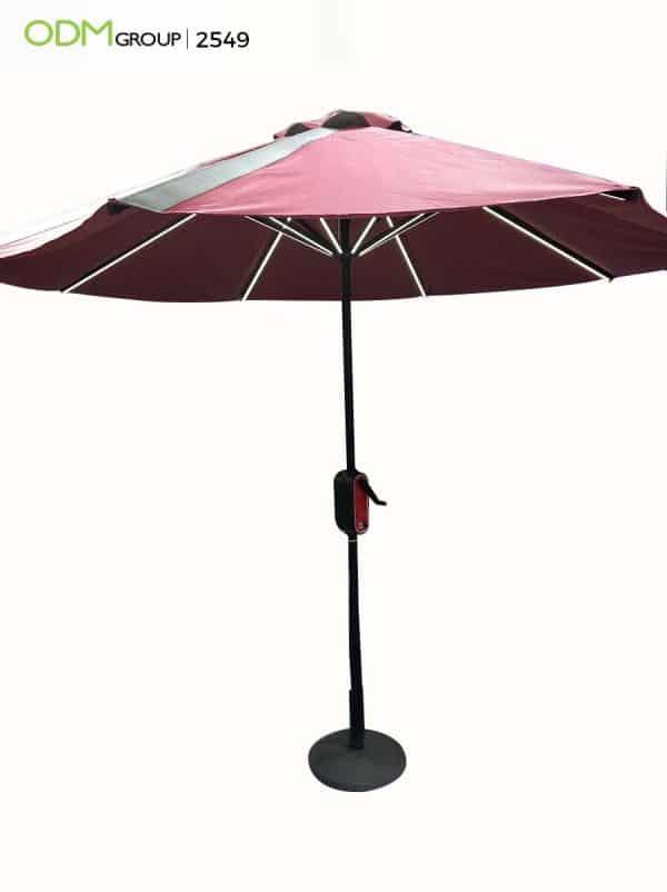 Custom Solar Umbrella