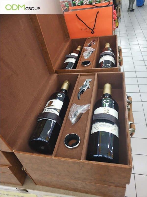 Customized Wine Case