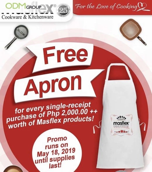 Masflex Aims To Boost Sales Through This Promotional Apron