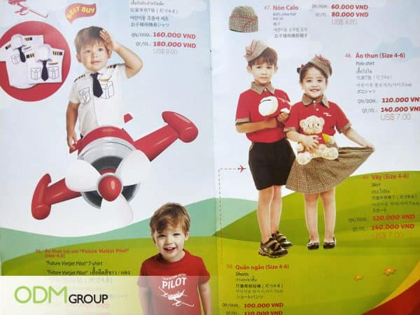Airline Promotional Items