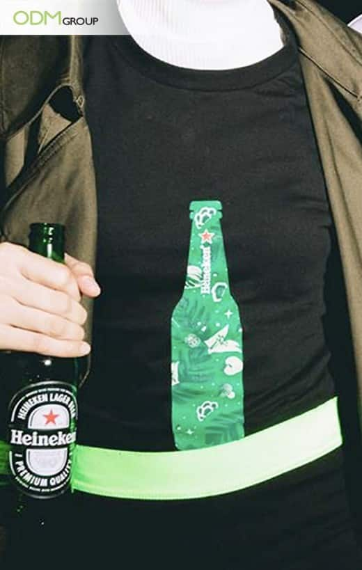 Heineken Makes A Statement With Its T-shirt Giveaway
