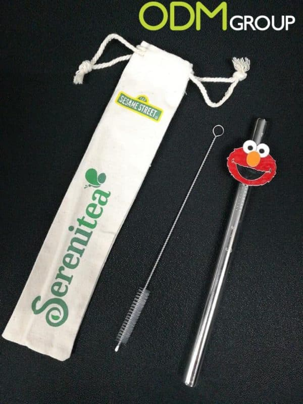 Custom-Metal-Straw-Sereniteas-Sustainable-Promotional-Campaign