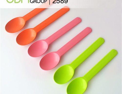 Green Promotional Merchandise- 4 Benefits of Custom Cornstarch Spoons