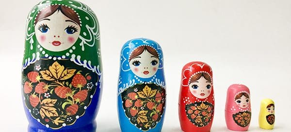 Russian Doll Packaging